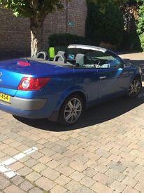 renault megane convertible £1150.00