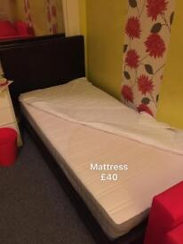 Used single and double size mattress for sale , very good condition