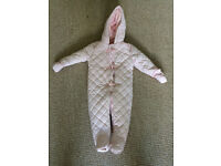 Mothercare snowsuit for age 9-12 months. As new.