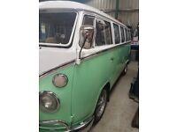 VW Splitscreen Camper Van