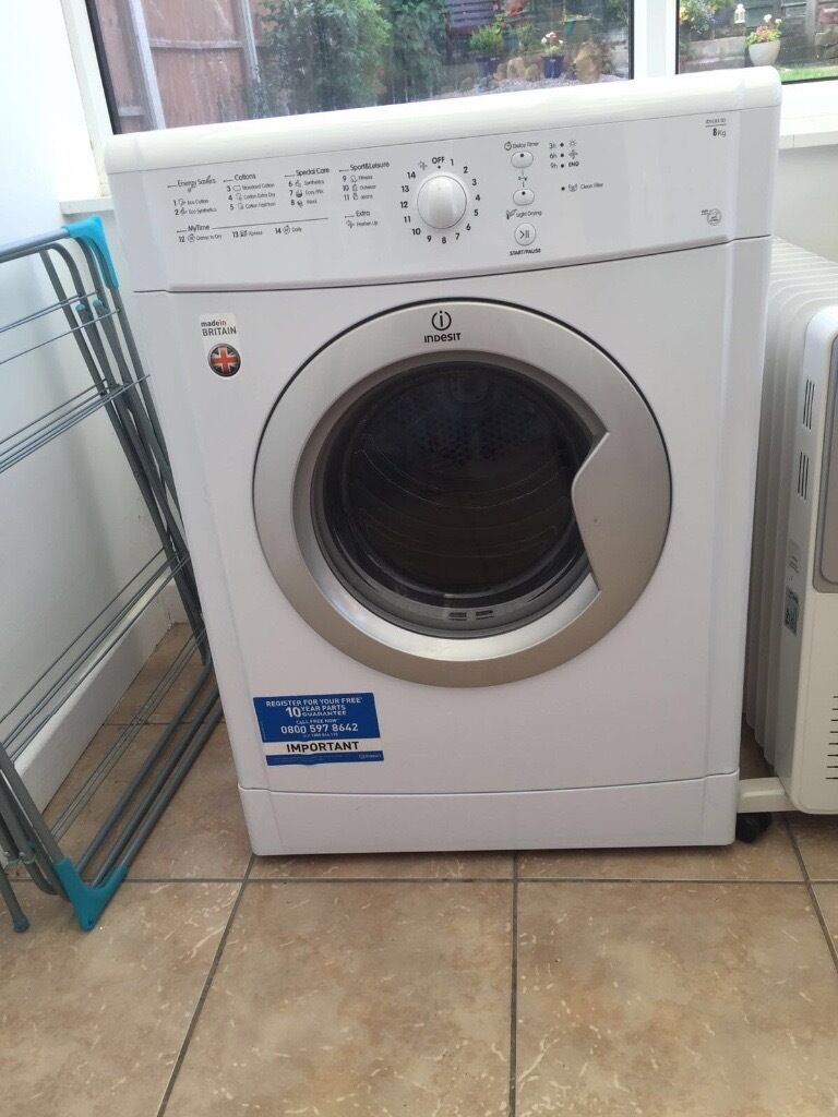 Tumble dryerin Chaddesden, DerbyshireGumtree - Indesit 8kg Less than a year old Excellent condition No marks on the unit