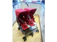 Maclaren Twin Triumph Double Pushchair