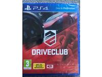 Driveclub (new & sealed)