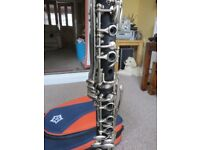 Artemis Clarinet, stand, bag and Music Stand