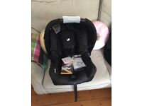 Joie Gemm car seat unused with tags