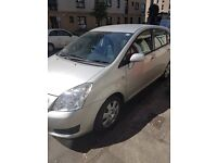 Toyota verso t2 1.8 petrol 7 seater family car