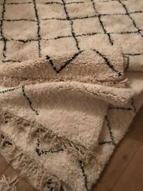 Beautiful Beni Ourain rugs new batch only small selection of these berber beauties!