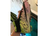 Signed boot by West Ham team