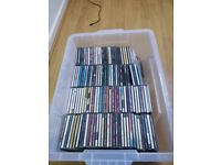 OVER 1000 CD'S VARIOUS MUSIC AND ARTISTS - USED TO BE A D.J
