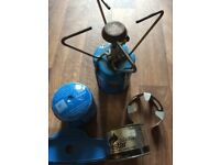 Portable Camping Gaz refills x2 and Bleuet S200 stove and Firestar Safe Fuel paste pocket cooker
