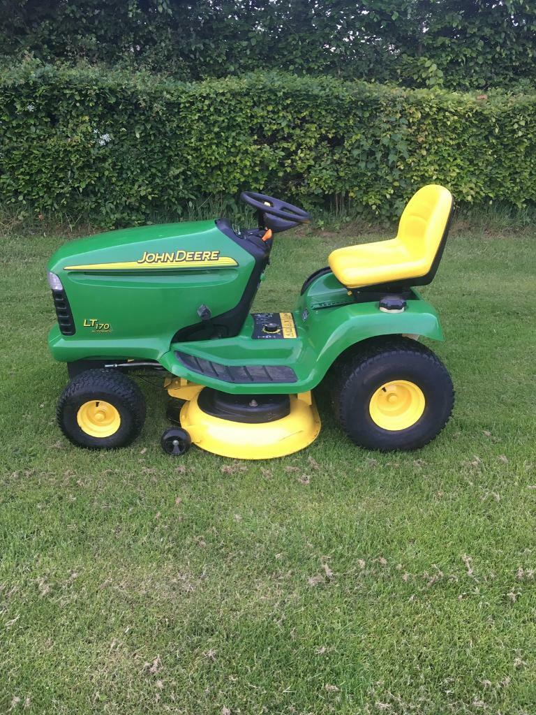 John Deere 170 P : John deere lt ride on mower in cupar fife gumtree