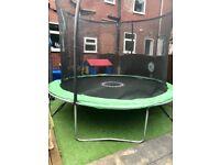 Sportspower 10ft trampoline with safety net.