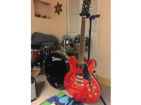 Tokai UES 60 SR Electric Guitar and Fender Amp