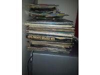 120 vinyl records bundle