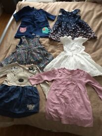 Girl dresses size 1,5-2 years