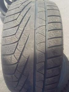 4X PNEUS HIVER - PIRELLI 245 45 17 - 4 WINTER TIRES