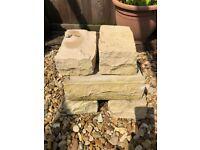 Sandstone paving and decorative stones
