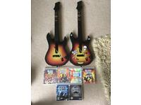 Ps3 guitars and games