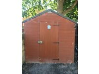 Tongue and groove 8x6 shed