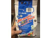 Mapei anthracite flexible grout 5KG bag un-opened