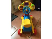 Vtech 2 in 1 ride on