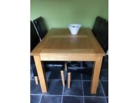 Extendable dinning table only