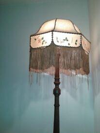 Old Oak Standard Lamp