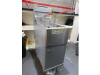 Pitco Commercial Chip Fryer Double Basket