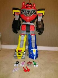 Megazord with figures
