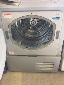 Hotpoint satin aluminium tumble dryer