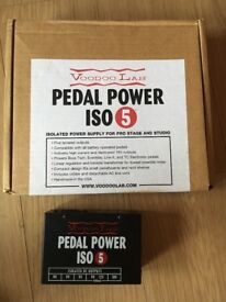 Voodoo Lab iso 5 Pedal power supply