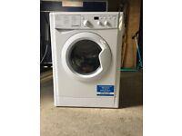 INDESIT - IWDD7143 Washer Dryer - White