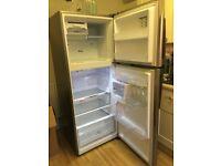Samsung silver fridge freezer