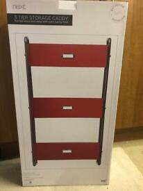 NEXT 3 tier bathroom or anywhere storage caddy. Brand New Boxed.