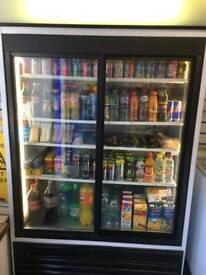 Soft drinks retail fridge / chiller