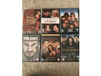 Various new unopened DVD's