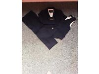 3 Piece Navy Boys Suit - Age 5-6