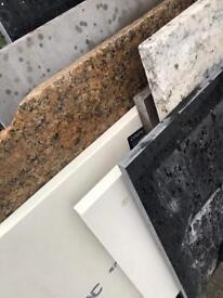 Granite, Quartz, stone off cuts