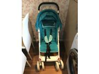 Bounce pushchair/buggy/pram and car seat