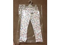 Mamas & papas girls leggings - new with tags on - 2-3year