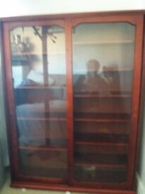 Display cabinet for cds dvds or anything