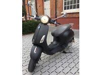 Matt Black 2014 Vespa Primavera 125cc - £1499