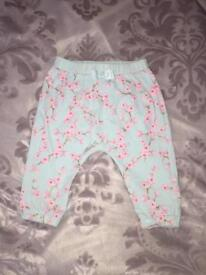 Baby girl Ted Baker trousers 6-9 months