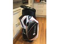 Motorcaddy 2016 cart bag excellent condition with matching hood but no strap.