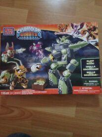 Skylander Giants Mega Blocks. Suit age 5+. Brand new never been opened.