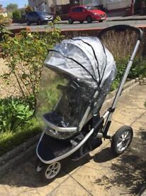 Mothercare xpedior three wheel Pushchair
