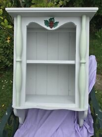 Shabby Chic Wall Display Cabinet
