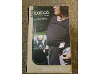 Close Caboo Plus organic baby carrier