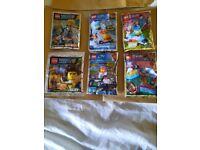 LEGO MINIFIGURES X 6