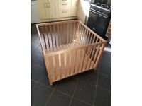 John Lewis wooden play pen